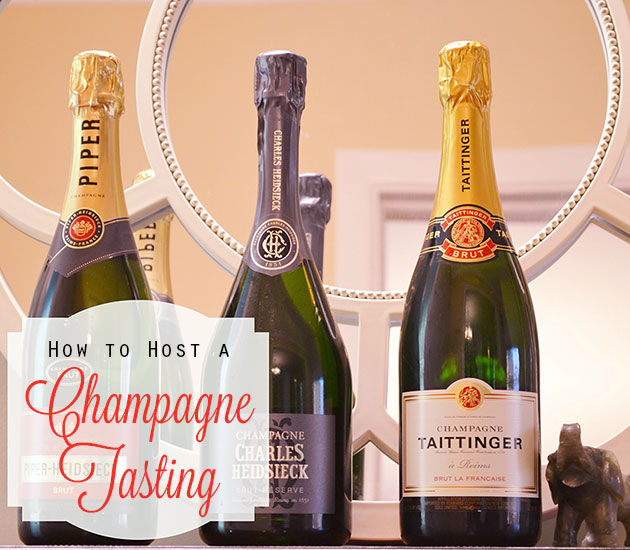 How to Host a Champagne Tasting