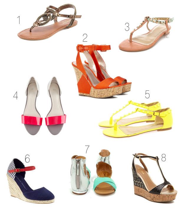 Hot Summer Sandals Under $50