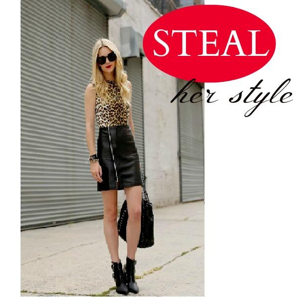 Blair Eadie Leopard Dress