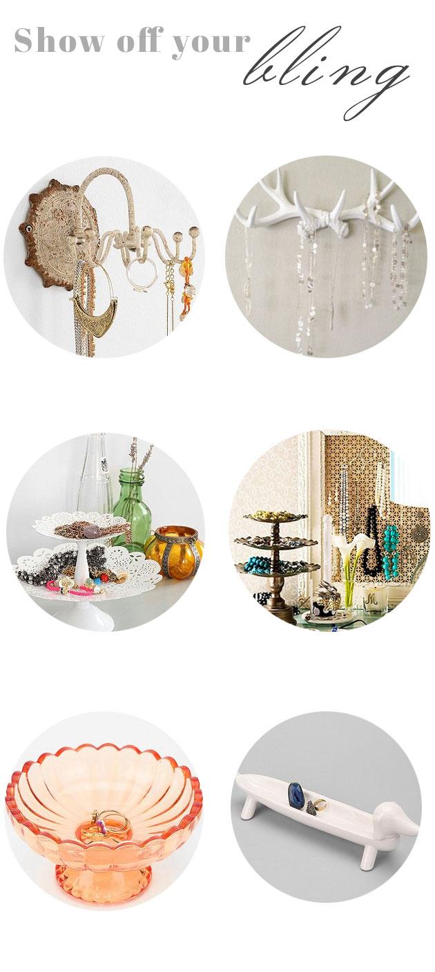 chic ways to organize your jewelry