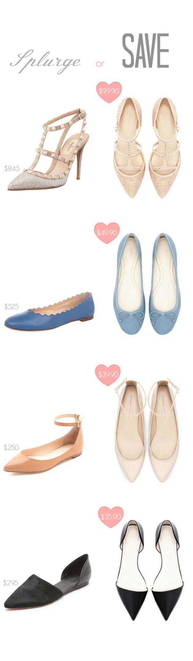 Splurge or Save: The Flats Edition