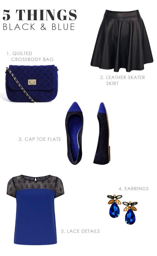 5 Things We Love in Black & Blue