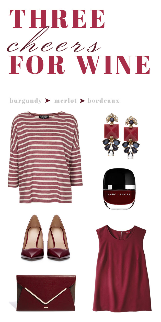 Fall Trend: Shades of Wine