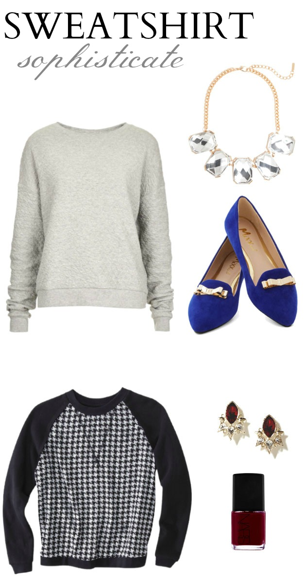 Fall Trend: Dress Up Your Sweatshirts