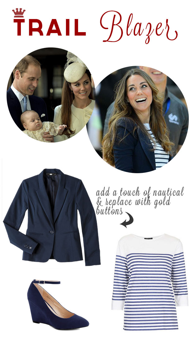 Kate Middleton's Navy Style