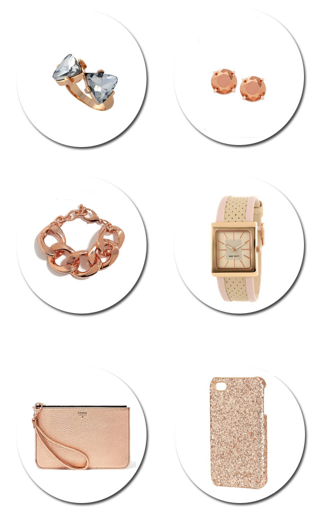 Rose Gold Accessories for Under $50