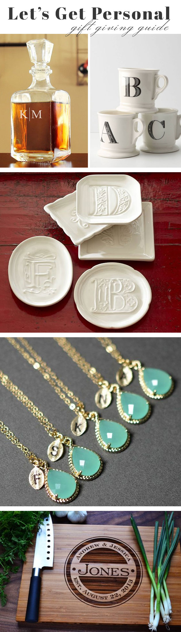 Personalized Gifts for Under $40