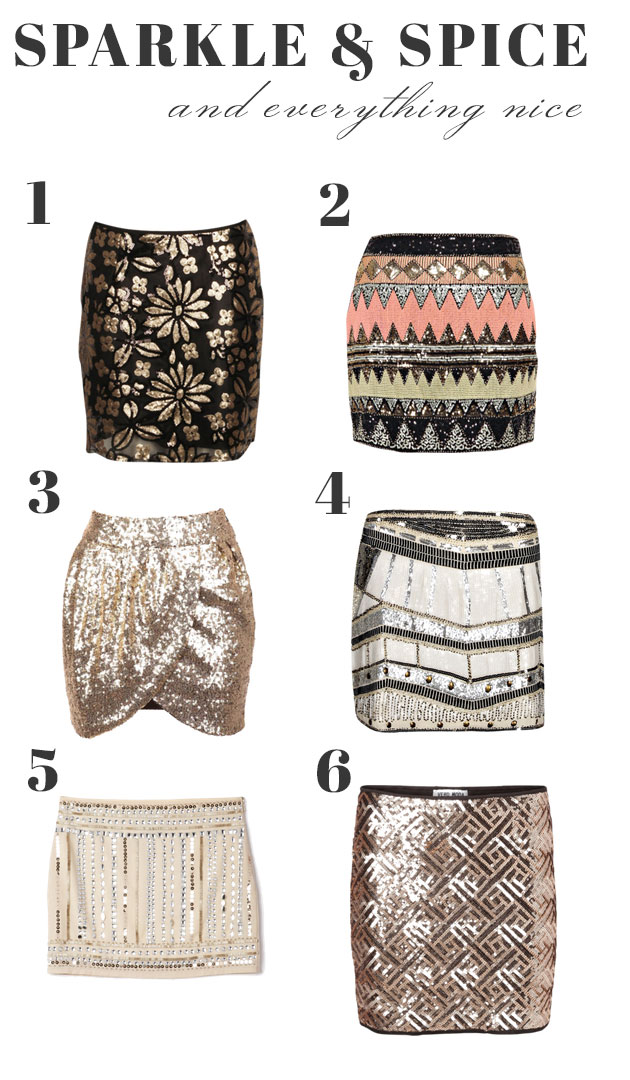 6 Sequined Minis for All Your Holiday Soirees