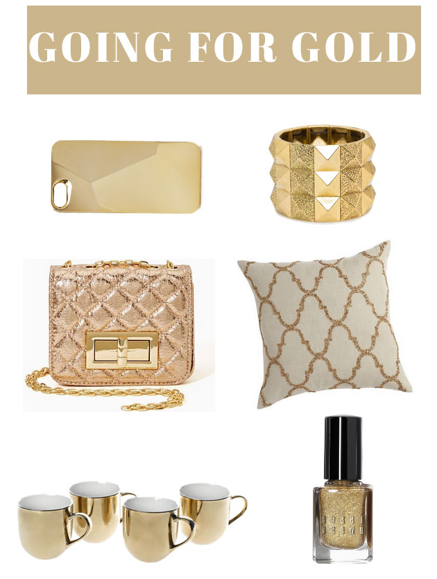 Olympic Inspiration: 6 Gold Items for Under $50