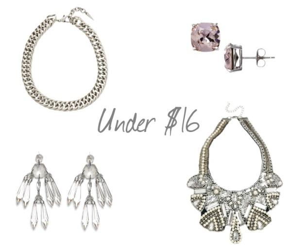 Jewelry Under 16