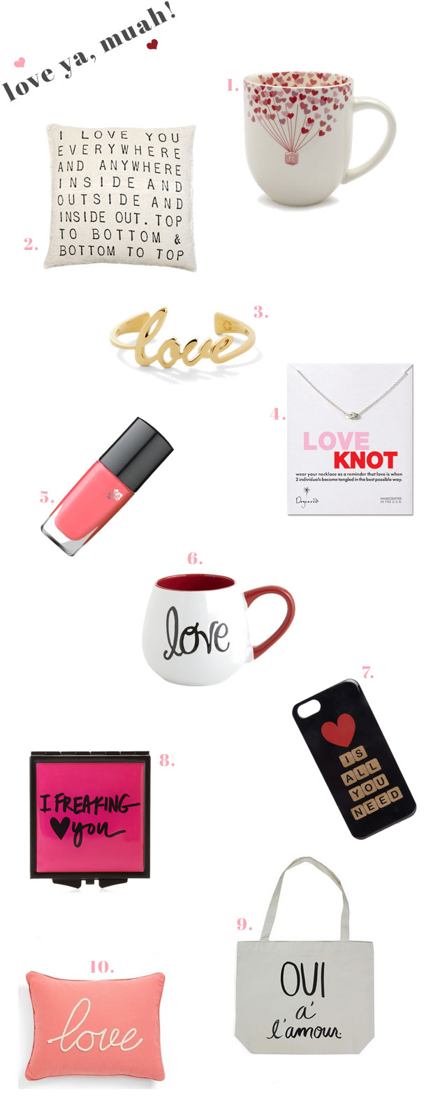 10 Ways to Say I Love You With Accessories