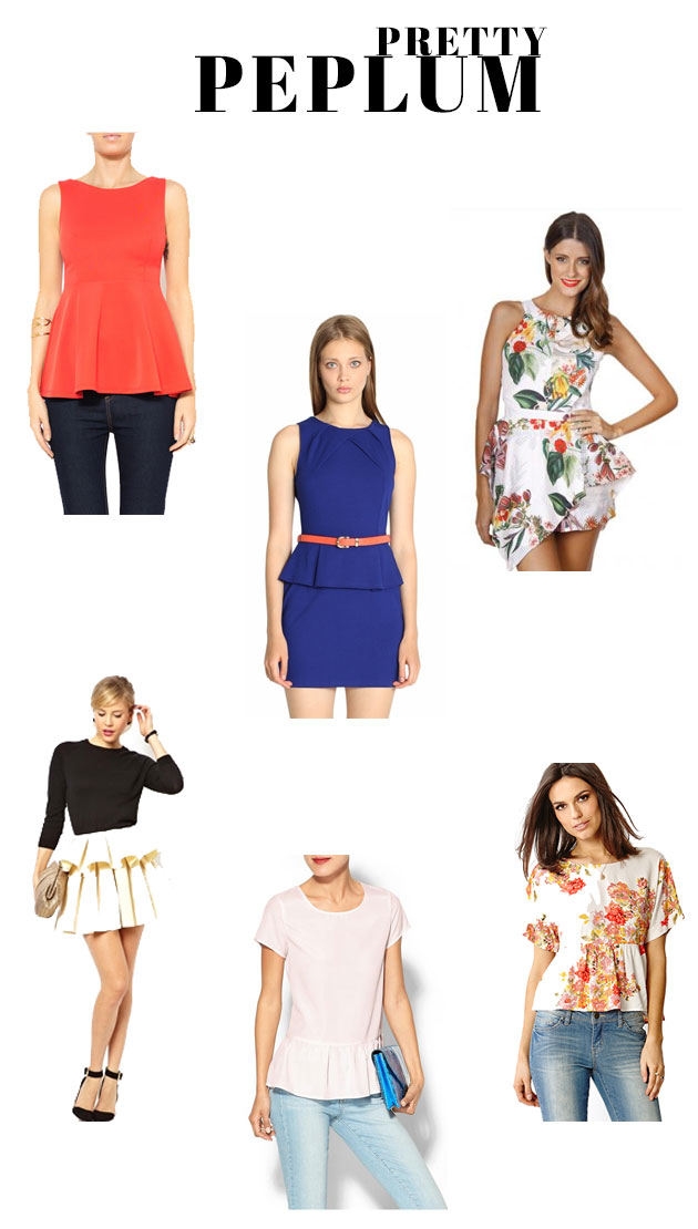 Spring-Worthy Looks That Prove Peplum Is Here to Stay