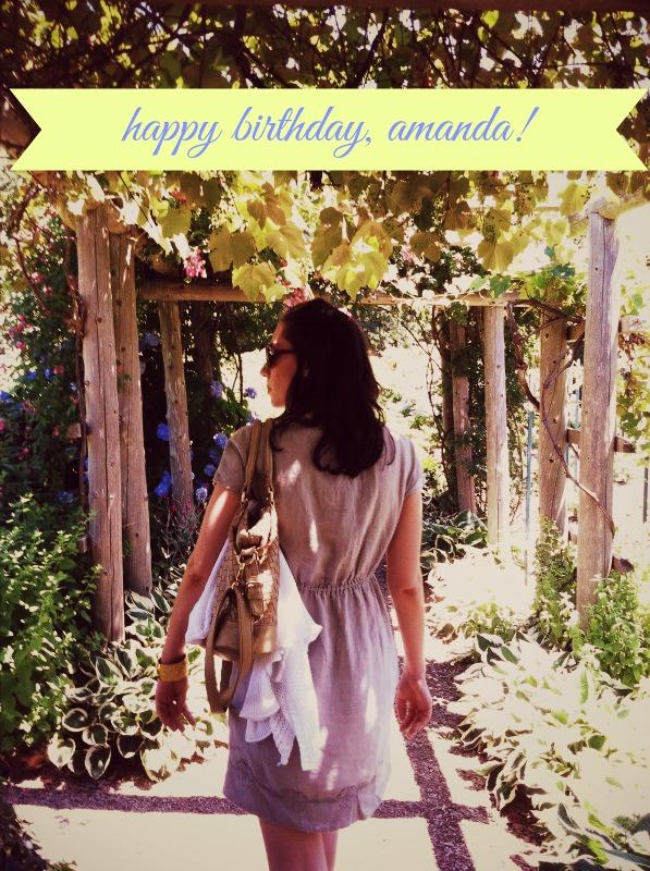 Happy Birthday, Amanda!